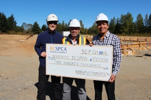 Nanaimo SPCA Receives $10,000